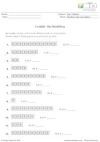 Bar Modelling - 5 xtable
