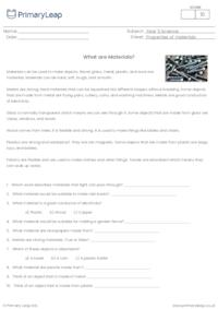 What Are Materials?