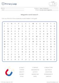 Word Search - Magnets