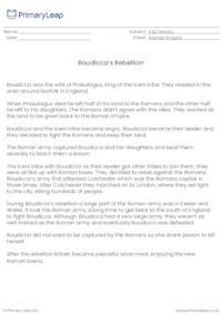 Boudicca's rebellion