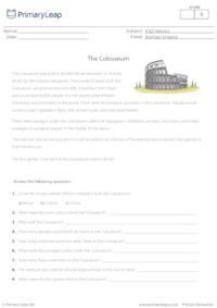 Reading Comprehension - The Colosseum