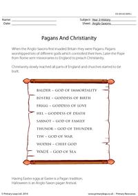 Pagans and Christianity