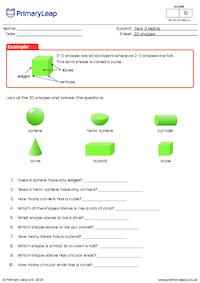 3-D shapes (foundation)