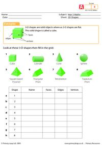 3-D shapes (advanced)
