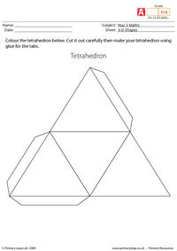 Making shapes - Tetrahedron