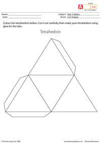 Making shapes - Tetrahedron