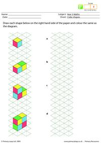 Cube shapes (foundation)
