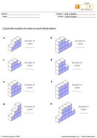 Cube shapes (intermediate)