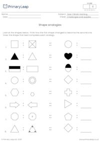Shape analogies