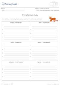 Animal group study