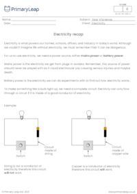 Electricity recap