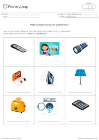 Mains electricity or batteries?