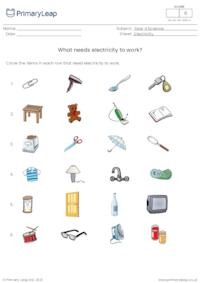 What uses electricity?