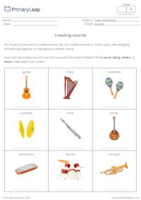 Creating sounds