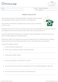 Measuring sound