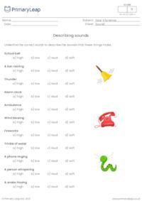 Describing sounds