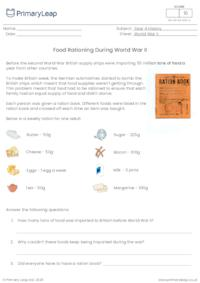 Food Rationing During World War II