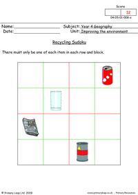 Recycling Sudoku