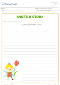 Write a story - Magic elf