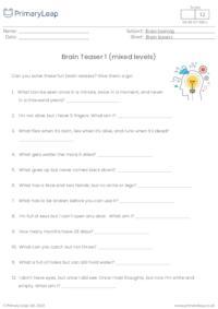 Brain Teaser 1