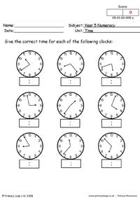 Time 5