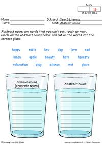 Abstract nouns 1