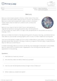 The planets - Mercury