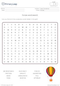 Forces word search