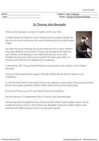 Dr. Thomas John Barnardo