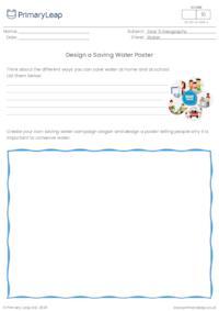 Design a Saving Water Poster