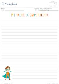 If I were a superhero (boy)
