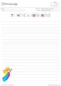 If I were a superhero (girl)
