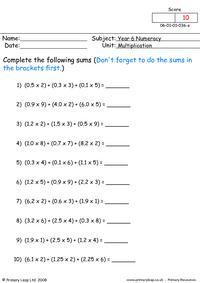 Multiplication 4