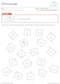 Fractions and percent