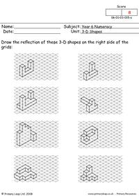 3D - shapes 2