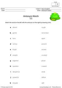 Antonym Match (1)