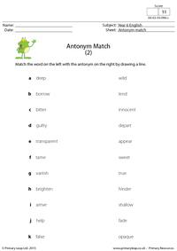 Antonym Match (2)