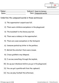 Compound words 1