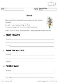 Defining Idioms