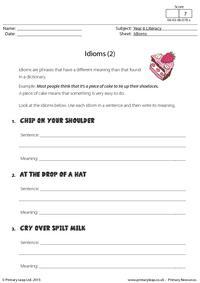 Defining Idioms (2)