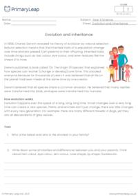 Evolution and inheritance