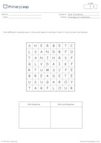 More about dissolving word search