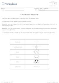 Circuits and electricity 1