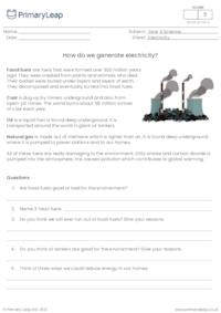 How do we generate electricity?