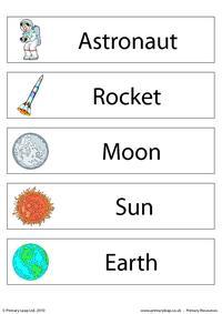 Solar system - set of 5