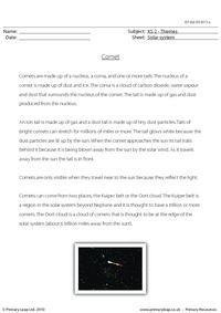Comet comprehension