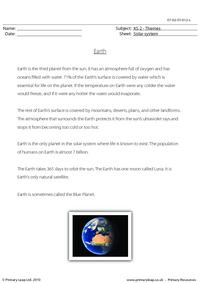 Earth comprehension