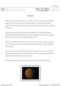 Mercury comprehension