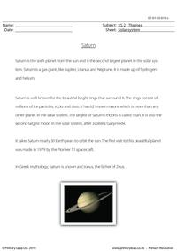 Saturn comprehension
