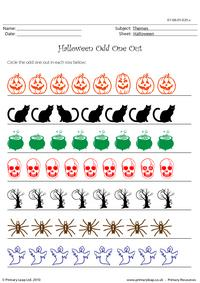 Halloween odd one out